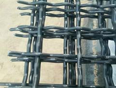 錳鋼軋花網