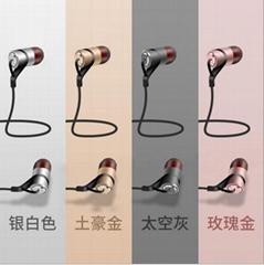 纳佰音  高档爆款入耳式双动圈耳机带麦双单元HIFI重低音通用耳塞