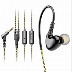 东莞耳机贴牌 MOYABYLI 入耳式运动手机耳机耳挂式