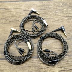 東莞發燒線材工廠舒爾插針鍍銀耳機線