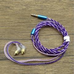 納佰音單晶銅耳機鍍銀線
