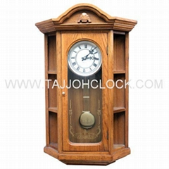 Top grade solid wood pendulum wall clock