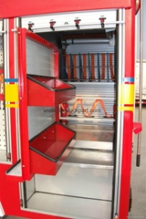 Firefighting Truck Part Accessories Aluminum Vertical Pallet Tray