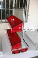 Firefighting Truck Part Accessories Aluminum Vertical Pallet Tray 2