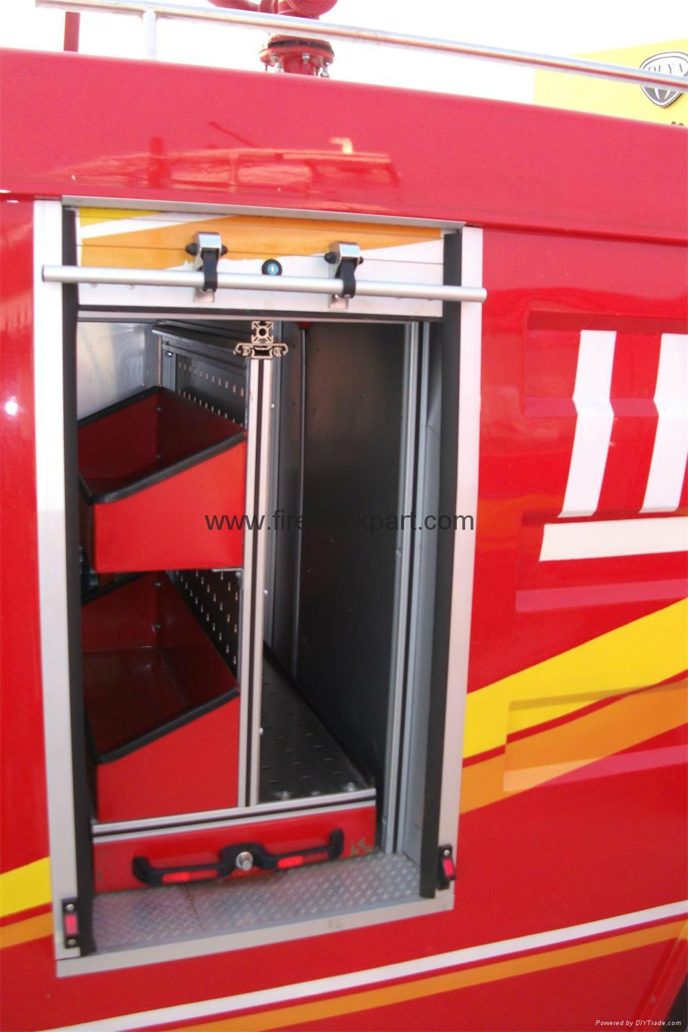 Firefighting Truck Part Accessories Aluminum Vertical Pallet 3