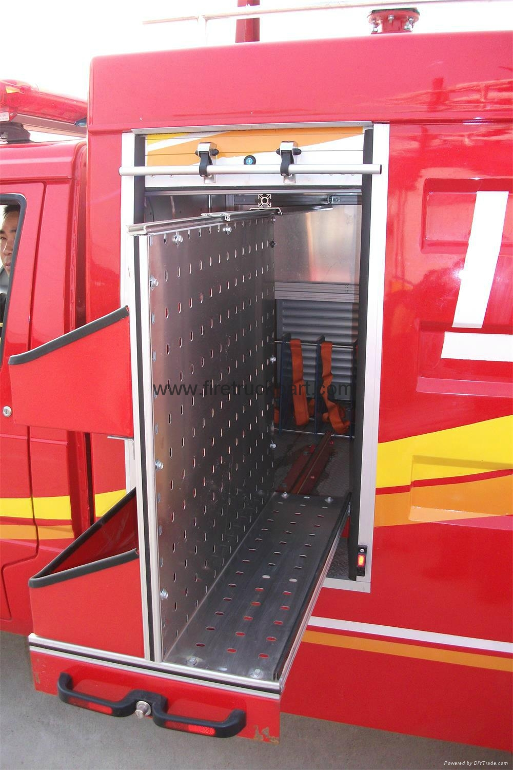 Firefighting Truck Part Accessories Aluminum Vertical Pallet 5