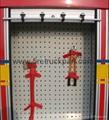 Firefighting Truck Blind Inner Accessory Tray Pallet
