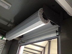 Roll Up Door For Emergency Vehicles Cargo Truck Sliding Door