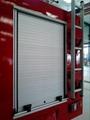 Fire Truck Roll up Door Aluminum Roller Shutter 2
