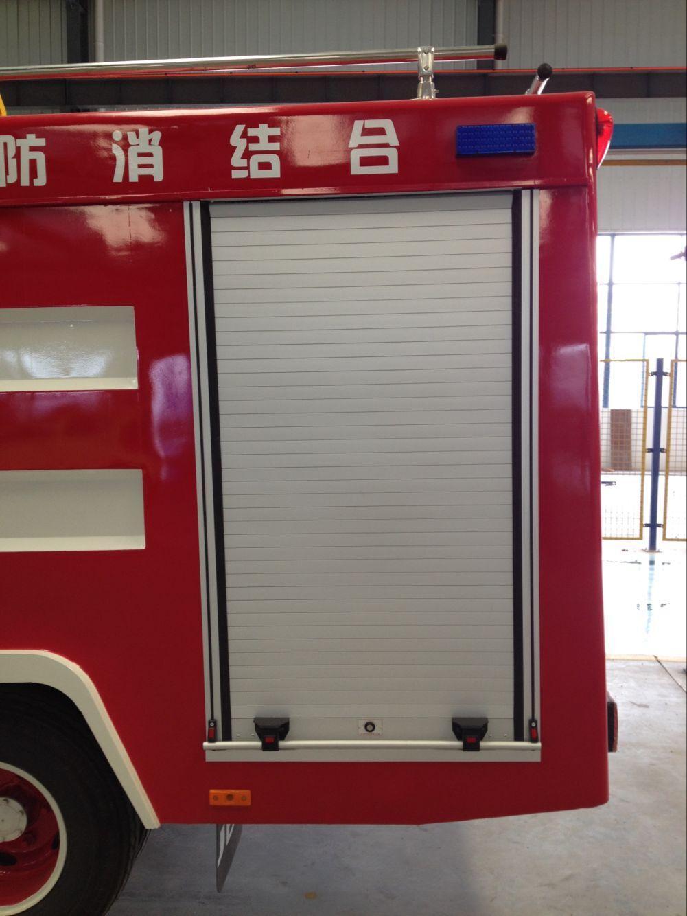 Fire Truck Roll up Door Aluminum Roller Shutter 3