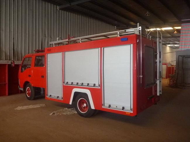 Fire-Fighting Truck Aluminum Roller Shutters Roll up Door Blind Curtain 2