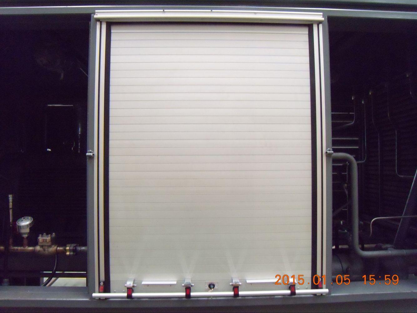 Fire-Fighting Truck Aluminum Roller Shutters Roll up Door 3