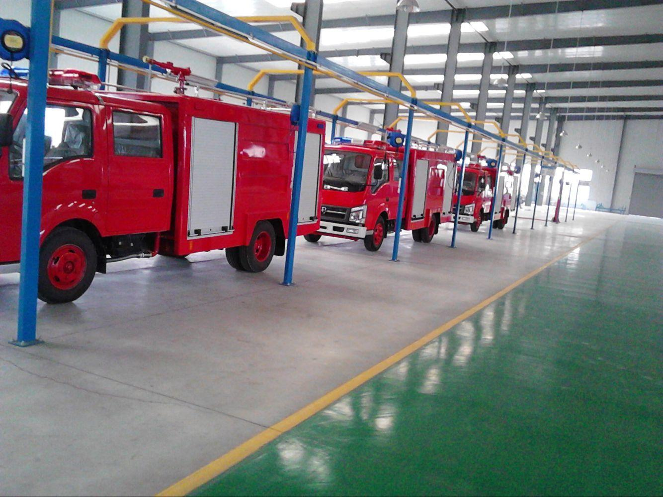 Fire-Fighting Truck Aluminum Roller Shutters Roll up Door 4