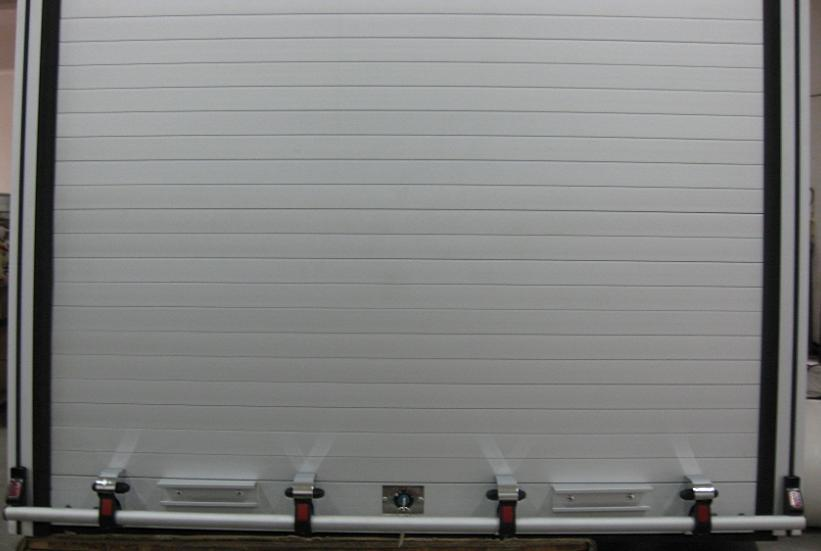 Fire-Fighting Truck Aluminum Roller Shutters Roll up Door 5