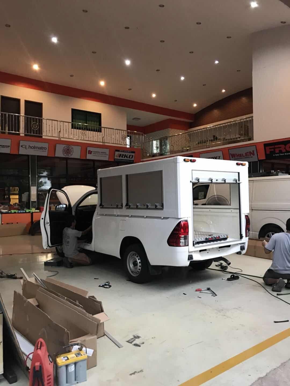 Truck Aluminum Roll up Door 2