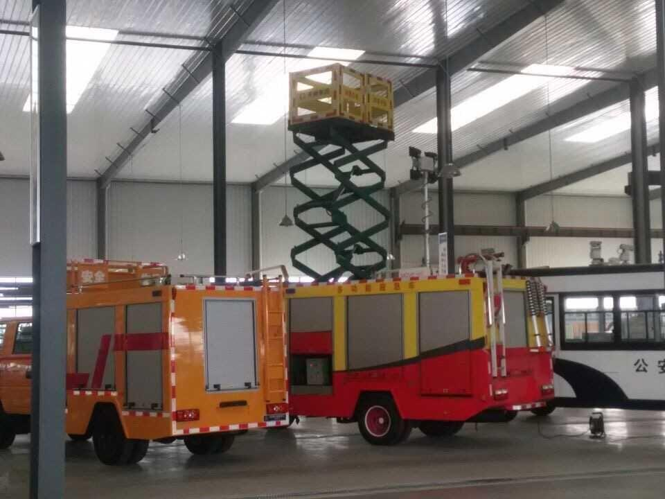 Aluminium Roller Door for Fire Fighting Truck Emergency Rescue Equipment 1