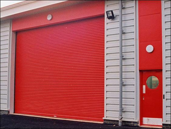 Security Proofing Aluminum Roller Door for Fire Vehicle 1