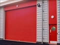 Security Proofing Aluminum Roller Door for Fire Vehicle