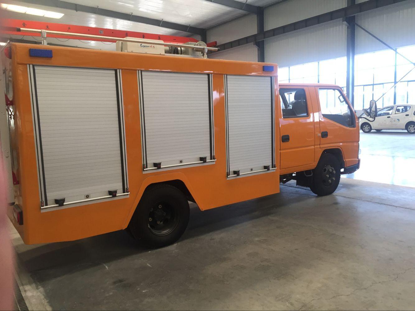 Security Proofing Aluminum Roller Door for Fire Vehicle 4