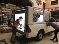 Aluminium Roller Door Rolltop roll up door for Truck  4