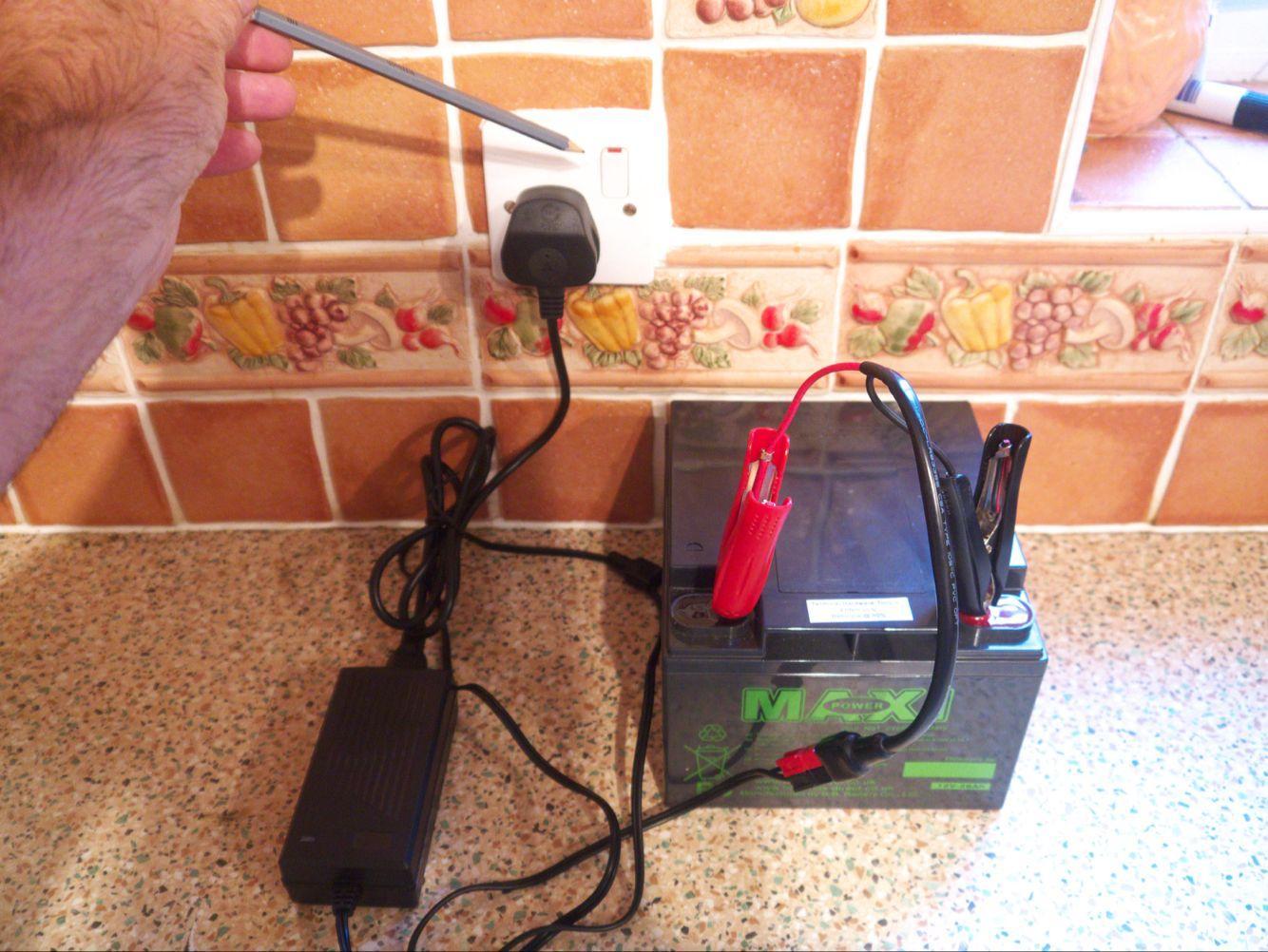 48V20ah Valve Sealed Lead Acid Battery Charger 5