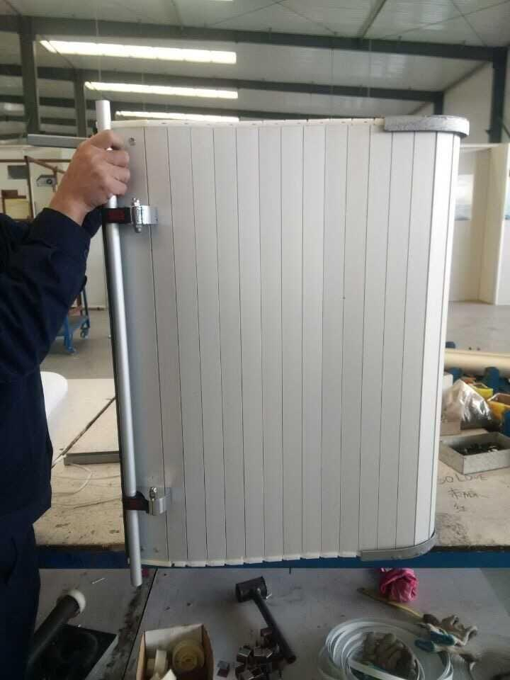 Fire Protection Aluminum Roll-up Door for Various Truck 2