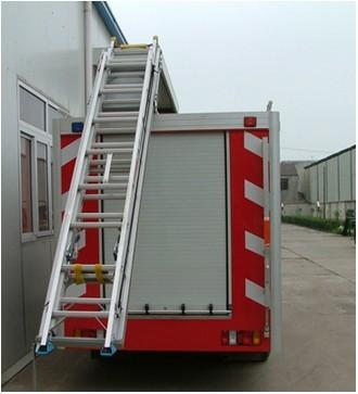Fire Protection Aluminum Roll-up Door for Various Truck/Vehicles 4