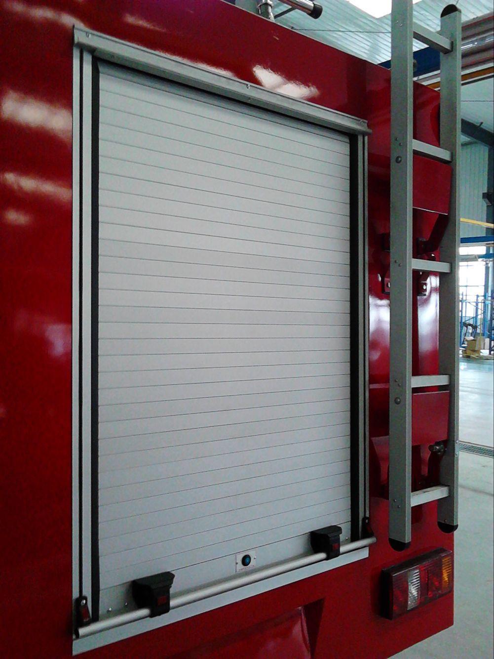 Safety Protection Aluminium Roller Shutter Door Vehicle Blind Door  2