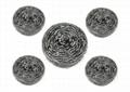 Stainless Steel Scrubber Steel Wool Scrubber Mesh Pot Scourer