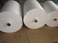 Fiberglass Battery Separator Two Yellow GlueLines Insulation Paper