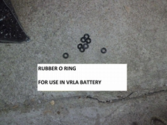 VRLA Rubber O-Ring/Valve/Cap (Lead Acid Battery Accessories)