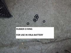 VRLA Rubber O-Ring/Valve