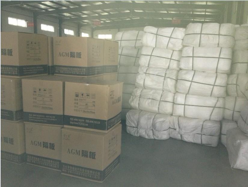 Lead Acid AGM Glass Mat Storage Battery Separator Insulation Sheet 3