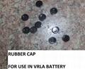 VRLA Lead Acid Battery Rubber Valve/Cap