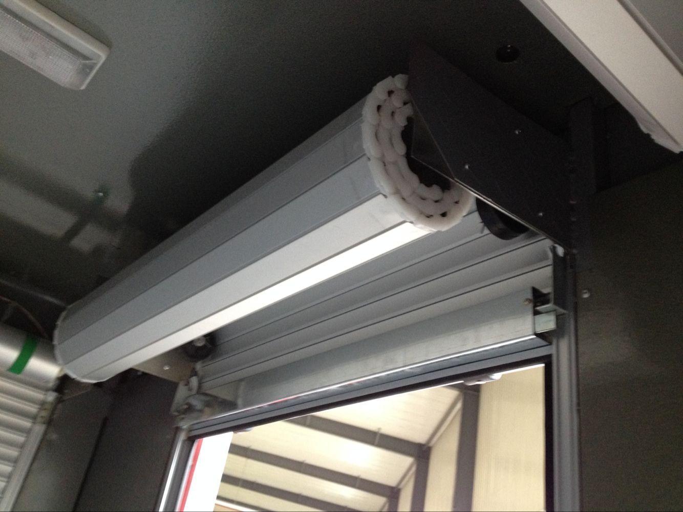 Fire Vehicles Roller up Shutter Door Cargo Truck Blind Door 6
