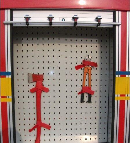 Emergency Truck Rolling Shutter Door Special Rescue Vehicles Parts 3