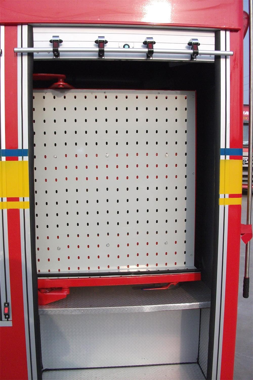 Fire Control Equipment Aluminum Rolling Shutter Door (Emergency Trucks) 4
