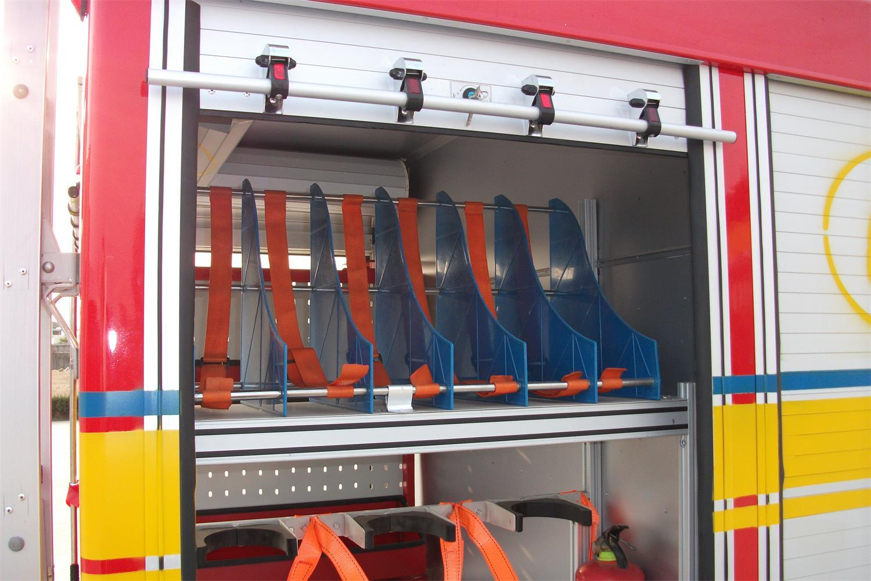 Fire Control Equipment Aluminum Roller Shutter (Emergency Trucks) 4