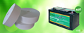 Absorptive Glass Mat Battery Separators