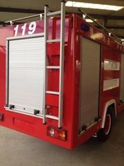 Fire Equipment Aluminium Roll-up Door Cargo Truck Roller Blind Shutter