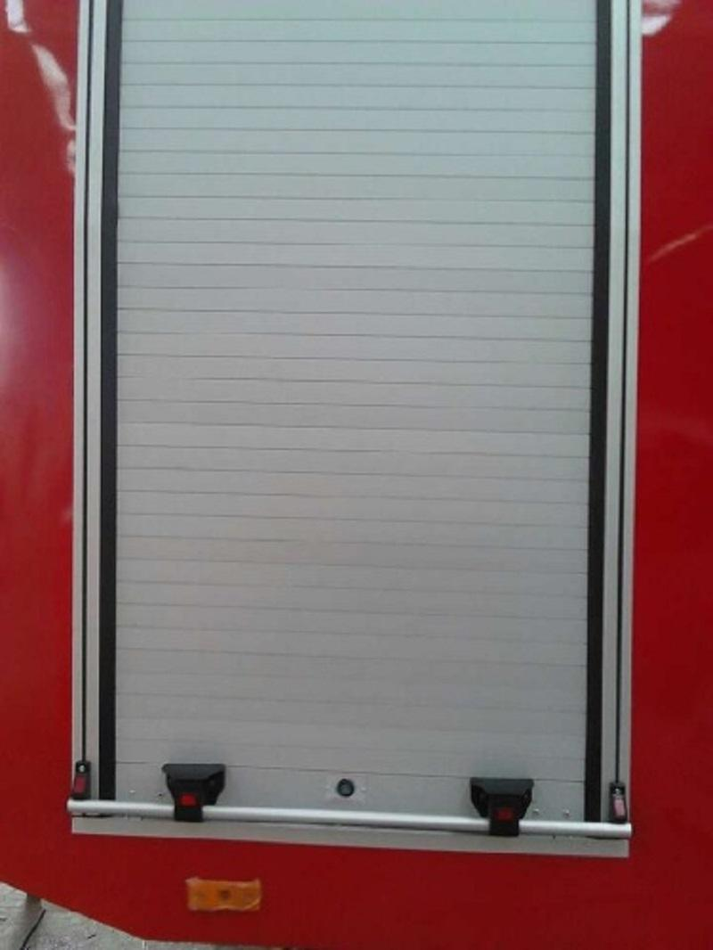 Truck Aluminum Rolling Shutter Fire Proofing Roll-up Doors 3
