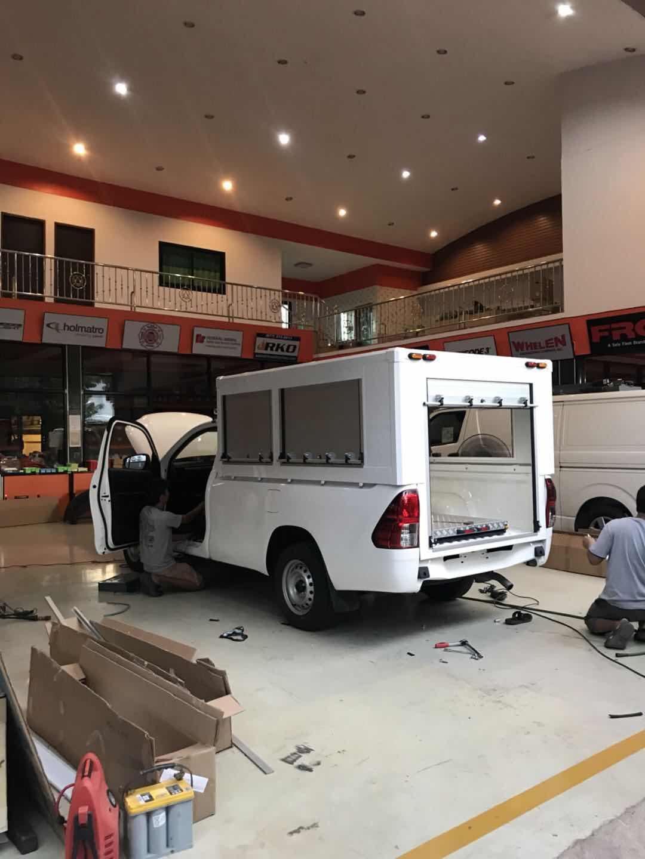 Vehicle Aluminum Roll up Door/Rolling Shutter Cargo Truck Shutter Blind