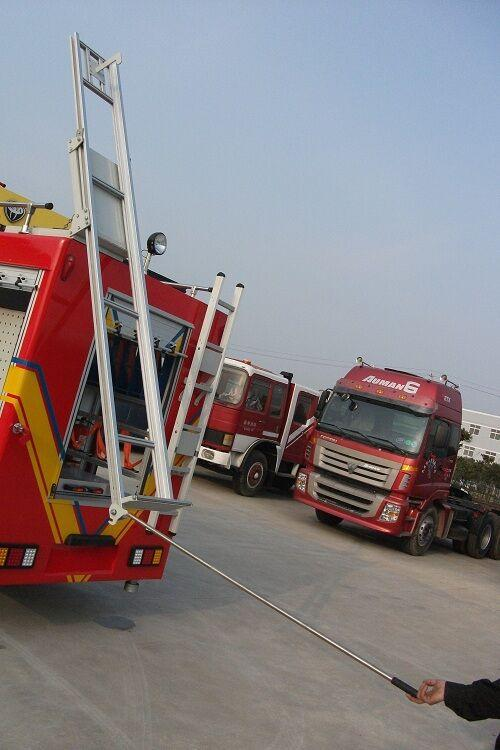 Fire Fighting Truck Parts Accessories Aluminium Extension Ladders 3