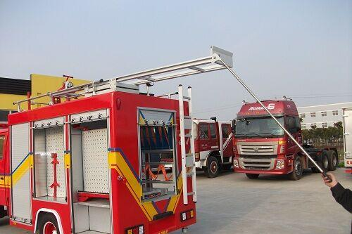 FireFighting Truck Parts Accessories Aluminum Step Back Ladder