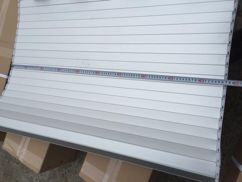 Cargo Truck Blind Aluminum Shutter Blade Roller Shutter Windows 5