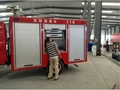 Emergency Truck Aluminum Roller Shutters Blind Rolling Door