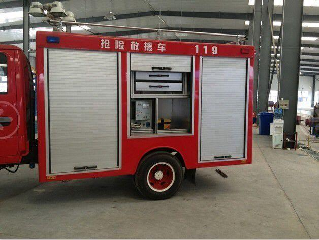 Aluminum Alloy Fire Roller Shutter for Fire Truck Shutter Door 3