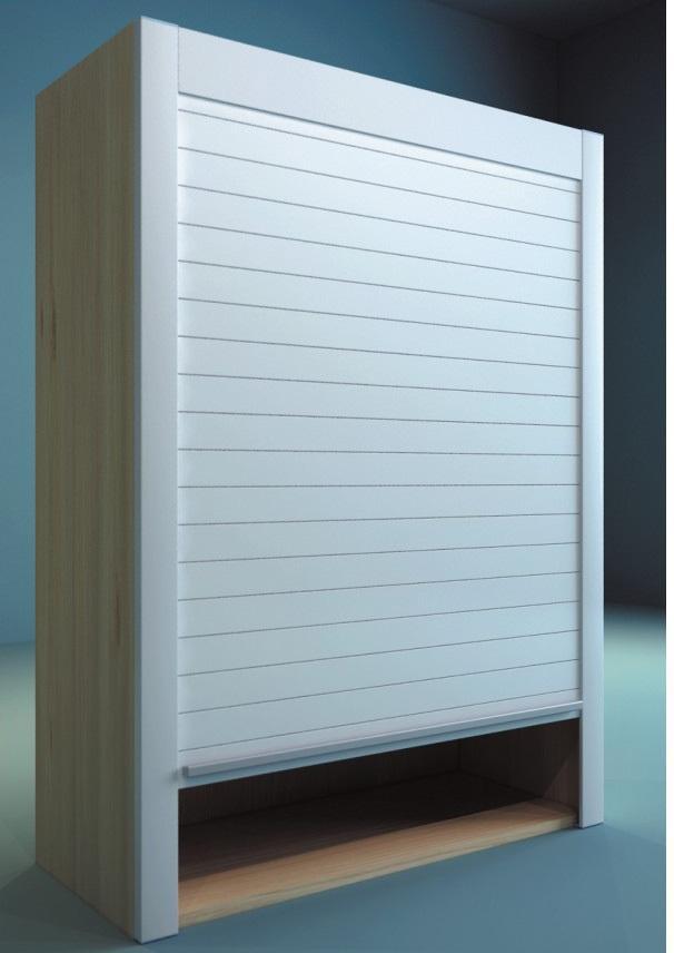 PVC /Glass Commercial Buildings Garage Door Window Shutter