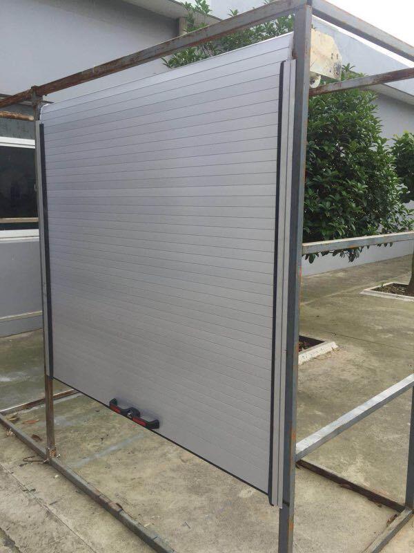 PVC /Glass Commercial Buildings Garage Door Window Shutter 4