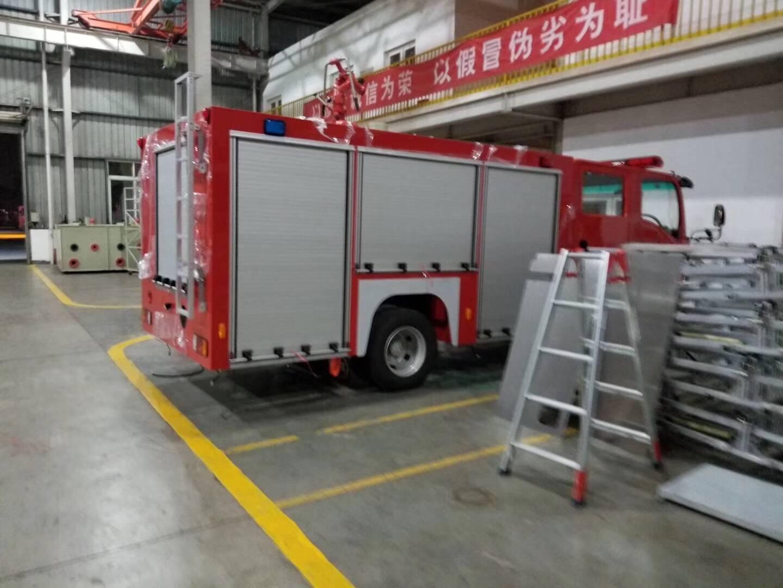 Fire Protection Roller Shutter Rolling up Door for Emergency Trucks 1